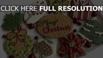 süßigkeiten neues jahr kekse feiertag stimmung