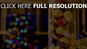 neues jahr lebensmittel süßigkeiten box