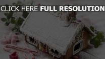 weihnachtstapete süßigkeiten feiertag neues jahr dekorationen lebkuchenhaus