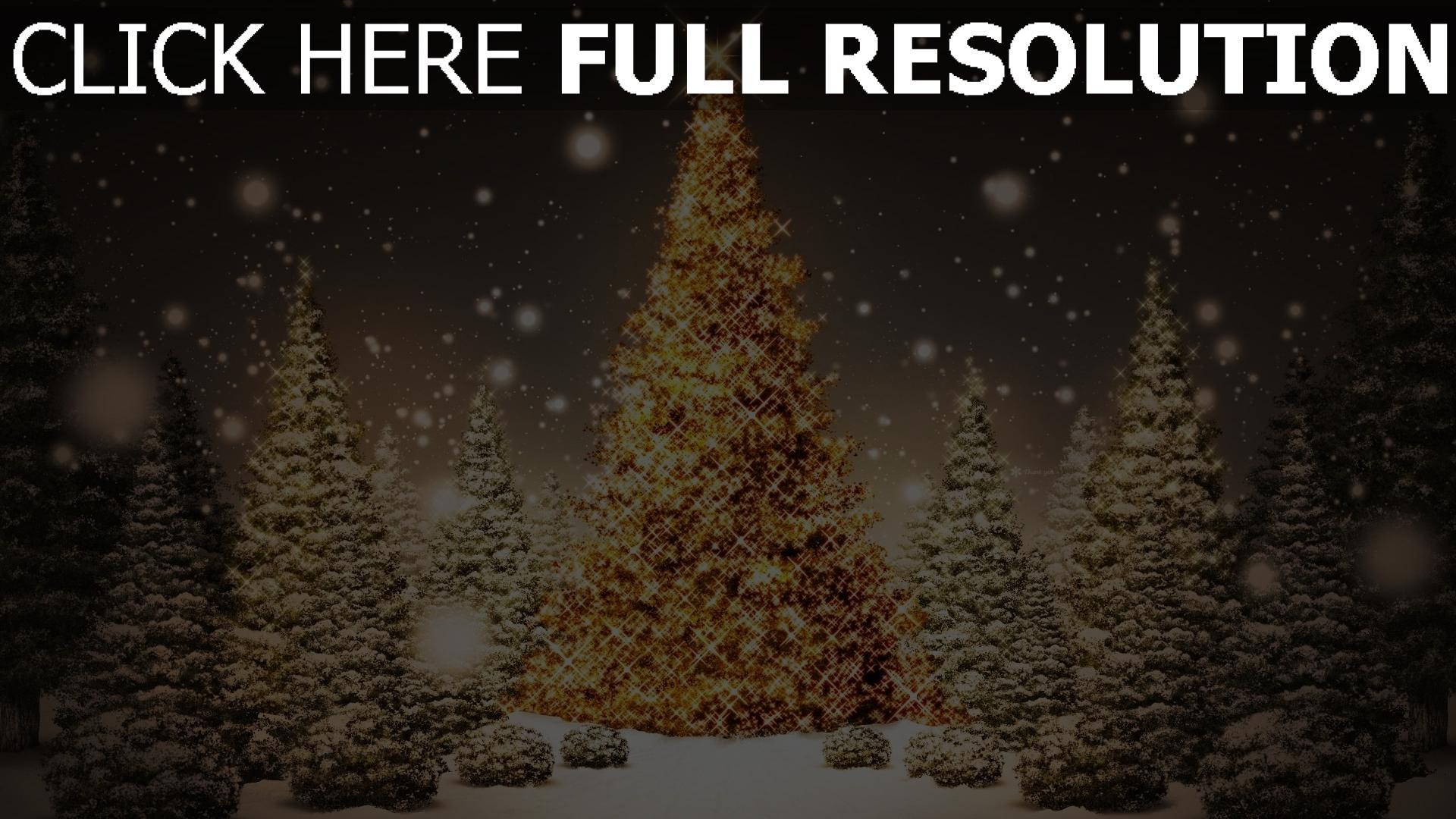 HD Hintergrundbilder bäume karte weihnachten neujahr wald schnee ...