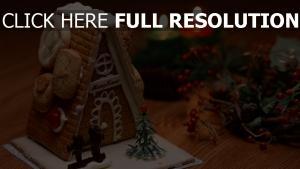süßigkeiten kerzen silvester weihnachten haus