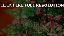 baum glocken weihnachten neujahr spielzeug band feiertag