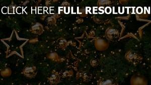 luftballons gold dekorationen baum sterne neues jahr feiertag weihnachten