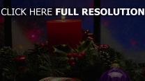 gewinde feiertag weihnachtsschmuck kerzen nadeln band