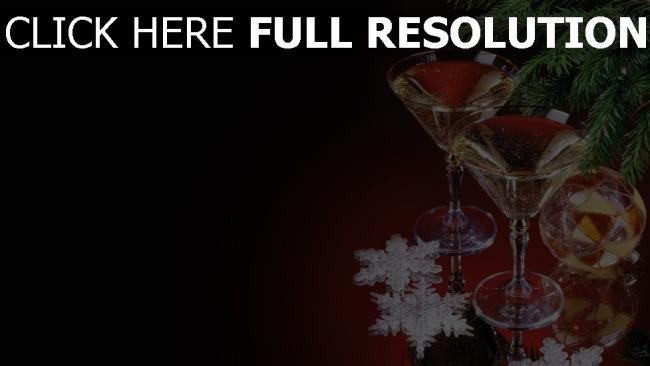 hd hintergrundbilder getränke nadeln gläser weihnachtsdekorationen faden schneeflocken feiertag