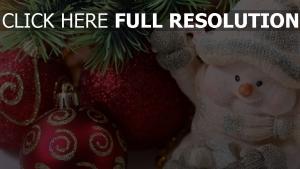 schneemann feiertag nadeln weihnachtsdekorationen neujahr weihnachten