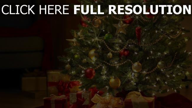 hd hintergrundbilder baum spielzeug neujahr weihnachten geschenke girlande
