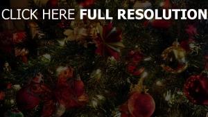 girlande neues jahr spielzeug baum feiertag weihnachten