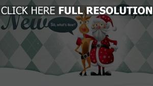 umarmungen weihnachten ren weihnachtsmann feiertag neues jahr inschrift