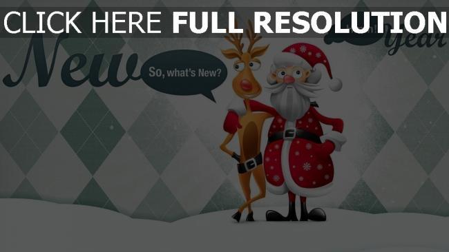 hd hintergrundbilder umarmungen weihnachten ren weihnachtsmann feiertag neues jahr inschrift