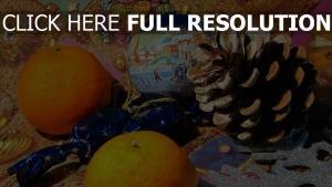 essen ball taverne mandarinen weihnachten spielzeug feier weihnachten neujahr