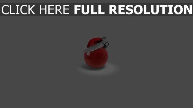 hd hintergrundbilder hut attribute ball weihnachten spielzeug rot feiertag weihnachten