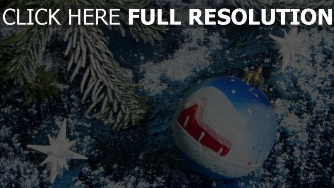 hd hintergrundbilder kugel ornament neujahr weihnachten pelz-baum dunkelblau schnee