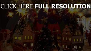 feiertag elfen weihnachten baum haus weihnachtsschmuck