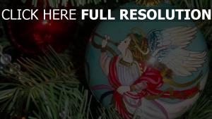 engel close-up ballon weihnachtsschmuck baum weihnachten