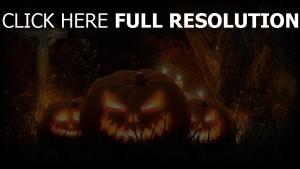 gras jack-o-latern kreuz halloween