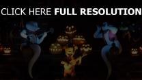 halloween gitarre geister kürbisse musik