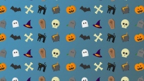 schädel knochen halloween art