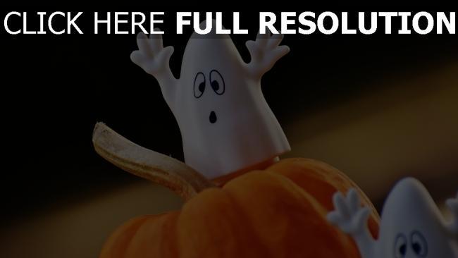 hd hintergrundbilder halloween geister kürbisse spielzeug