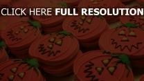 zuckerguß halloween kürbis kekse