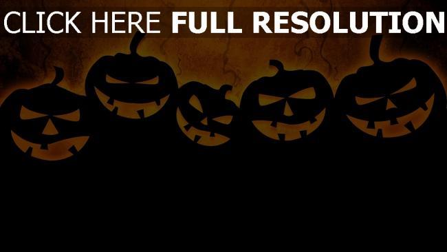 hd hintergrundbilder minimalismus halloween dunkel jack-o-lantern