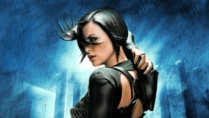 aeon flux charlize theron science-fiction thriller detektiv