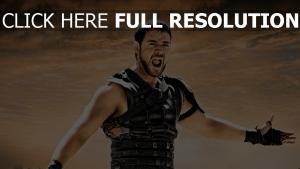 gladiator russell crowe krieger waffe rüstungen schrei
