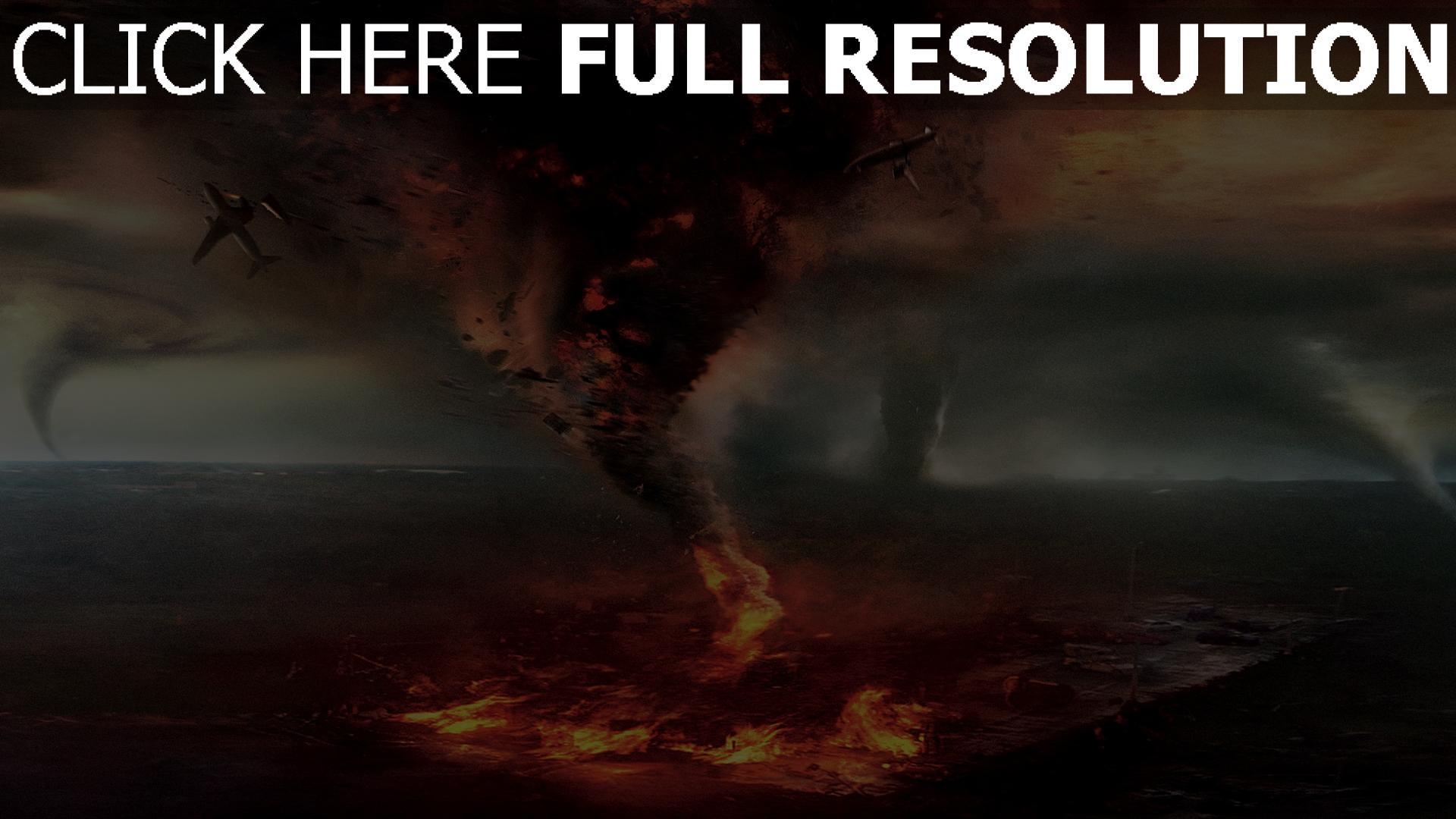 hd hintergrundbilder into the storm hurrikan trichter