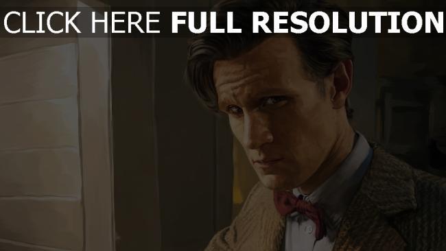 hd hintergrundbilder matt smith doctor who eleventh doctor