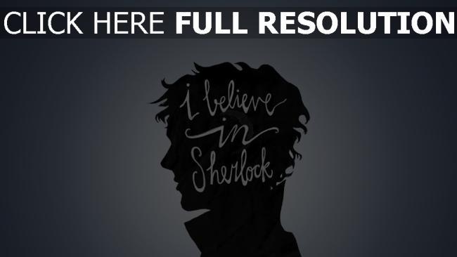hd hintergrundbilder glauben sherlock minimalismus bbc profil