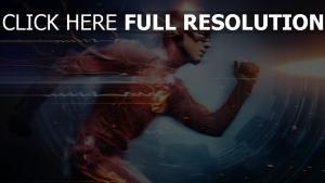 superheld the flash der blitz grant gustin
