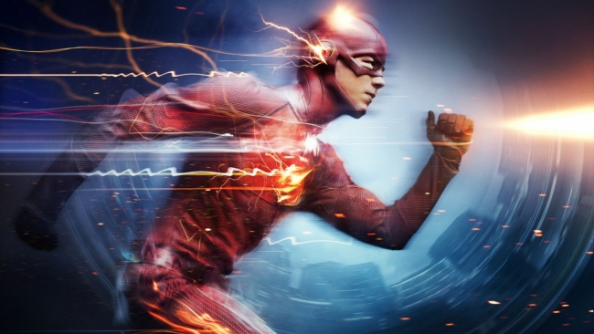 hd hintergrundbilder superheld the flash der blitz grant gustin