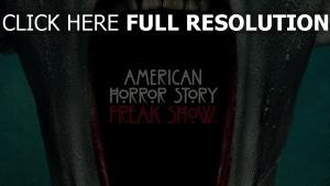 saison vier freak show beanspruchter haut american horror story