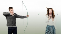 stephen amell arrow katie cassidy