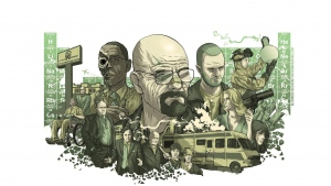 heisenberg breaking bad figuren malerei protagonisten