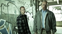 walter white aaron paul jesse pinkman breaking bad bryan cranston