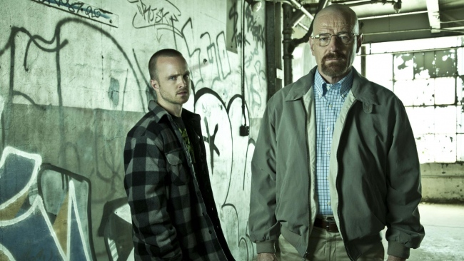 hd hintergrundbilder walter white aaron paul jesse pinkman breaking bad bryan cranston