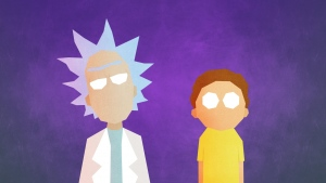 morty minimalismus rick and morty rick