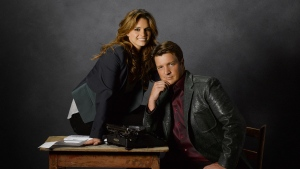 nathan fillion kate beckett castle richard castle stana katic