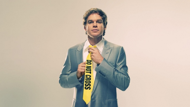 hd hintergrundbilder dexter morgan krawatte protagonist schauspieler dexter michael c hall
