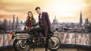 matt smith london jenna-louise coleman doctor who motorrad
