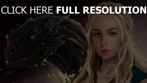 game of thrones drachen daenerys targaryen
