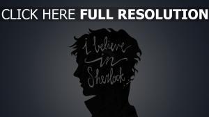 sherlock bbc minimalismus profil glauben