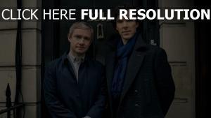 tür sherlock holmes dr john watson sherlock bbc martin freeman benedict cumberbatch