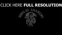 logo tv-serie sons of anarchy kalifornien