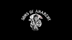 logo tv-serie sons of anarchy kalifornien