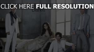 paul wesley the vampire diaries ian somerhalder nina dobrev joseph morgan