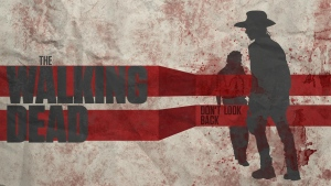 rick grimes the walking dead carl grimes silhouette