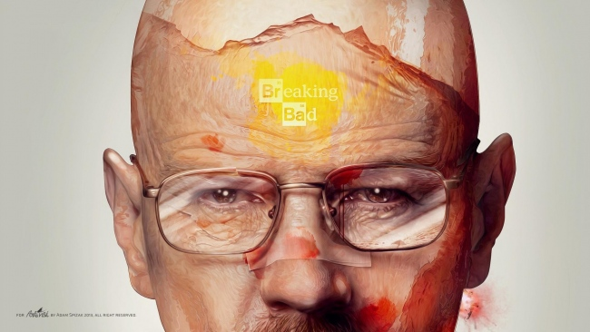 hd hintergrundbilder narbe walter white breaking bad gesicht