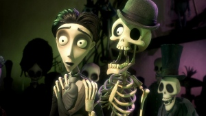 victor skelett corpse bride hut